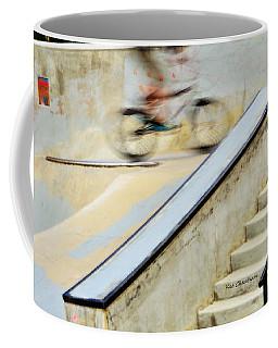 Biking The Skateboard Park Coffee Mug