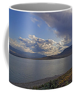 Coffee Mug featuring the photograph Bill Cody Reservoir - 25x76 by J L Woody Wooden