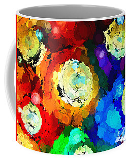 Billiard Balls Abstract Digital Art Coffee Mug