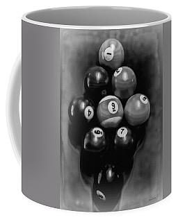 Billiards Art - Your Break - Bw  Coffee Mug