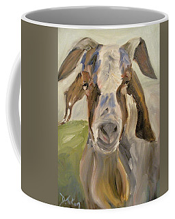 Coffee Mug featuring the painting Billy by Donna Tuten