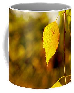 Birch Leaves Coffee Mug