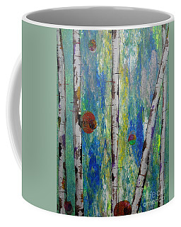 Birch - Lt. Green 4 Coffee Mug