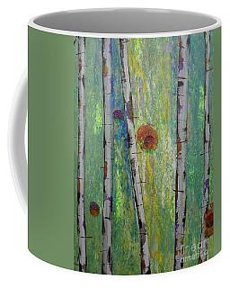 Birch - Lt. Green 5 Coffee Mug
