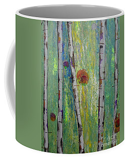 Birch - Lt. Green 5 Coffee Mug