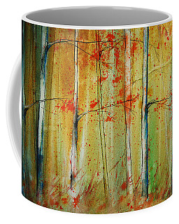 Birch Tree Forest I Coffee Mug