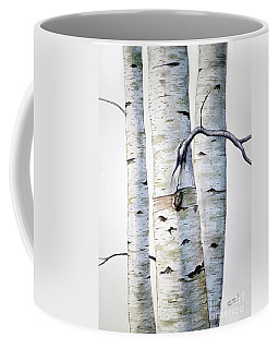 Birch Trees Coffee Mug