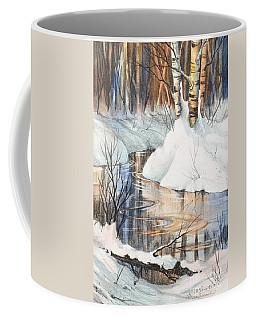 Birch Trio II Coffee Mug