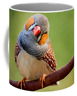 Bird Art - Change Your Opinions Coffee Mug