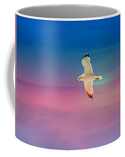 Bird At Sunset Coffee Mug