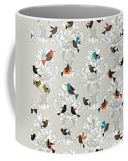 Bird Love Trees Coffee Mug