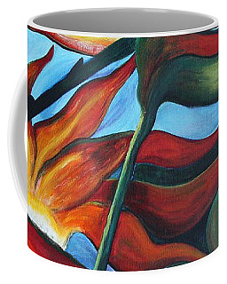 Bird Of Paradise Coffee Mug by Jolanta Anna Karolska