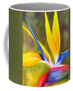 Bird Of Paradise Revisited Coffee Mug