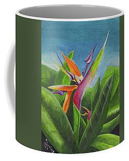 Hawaiian Bird Of Paradise Coffee Mug