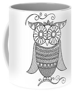 Bird Owl 4 Coffee Mug by Neeti Goswami