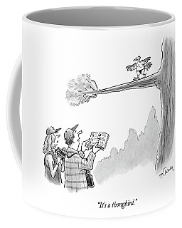 Bird Watchers Spot A Bird Wearing A Thong Coffee Mug