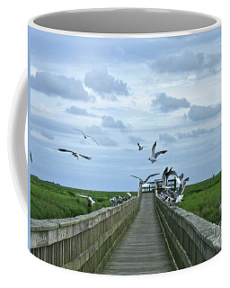Bird Watching Coffee Mug by Nancy Patterson