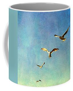 Birds Above Coffee Mug