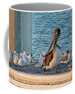 Birds - Among Friends Coffee Mug