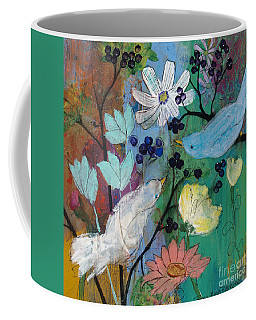 Birds And Berries Coffee Mug
