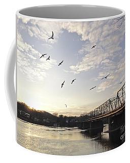 Birds And Bridges Coffee Mug