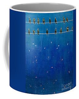 Birds And Fish Coffee Mug
