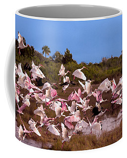 Birds Call To Flight Coffee Mug