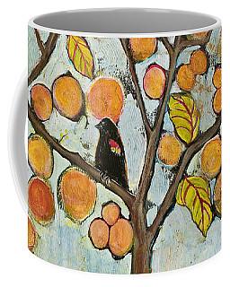 Birds In Paris Landscape Coffee Mug