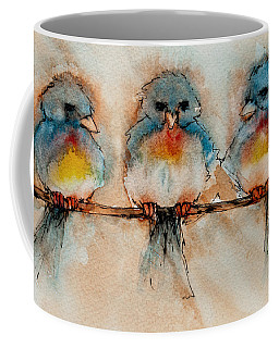 Birds Of A Feather Coffee Mug by Jani Freimann