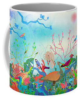 Birds Of My Landscapes - Limited Edition  Of 15 Coffee Mug