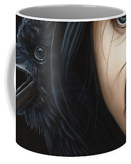 Birds Of Prey- Raven Coffee Mug