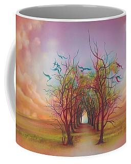 Birds Of Rainbow Mist Coffee Mug