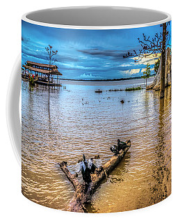 Birds On Log Coffee Mug
