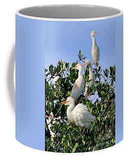 Birds Quartet Coffee Mug