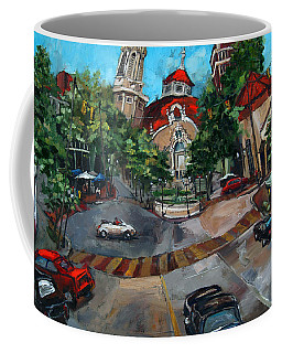 Birmingham Five Points Coffee Mug by Carole Foret
