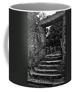 Bishop's Palace Gardens Bw Coffee Mug