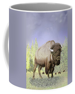 Bison On The Range Coffee Mug