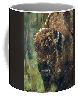 Bison Study - Zero Three Coffee Mug