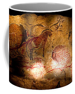 Bisons Horses And Other Animals Coffee Mug