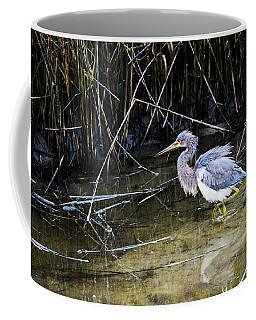 Bittern At Dusk  Coffee Mug