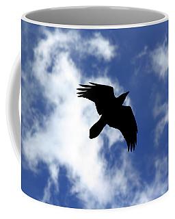 Black Above Coffee Mug