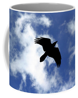 Black Above Coffee Mug