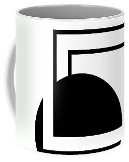 Black And White Art - 127 Coffee Mug