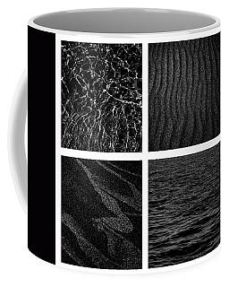 Black And White Beach Coffee Mug