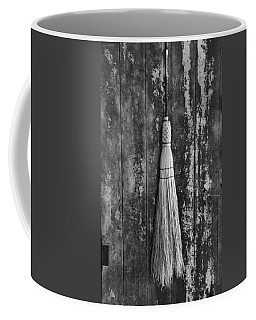 Black And White Broom Coffee Mug