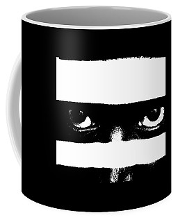 Coffee Mug featuring the photograph Half Of What You See Aka Black And White by Cleaster Cotton