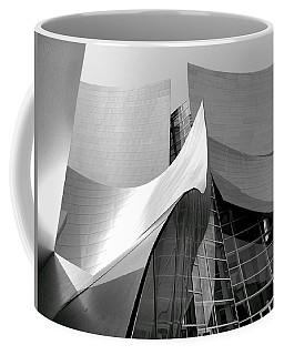 Black And White Curves Coffee Mug