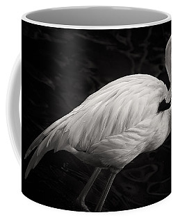 Black And White Flamingo Coffee Mug
