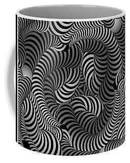 Black And White Illusion Coffee Mug