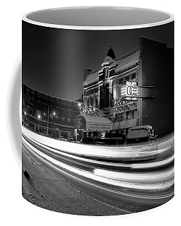 Black And White Light Painting Old City Prime Coffee Mug by Dan Sproul